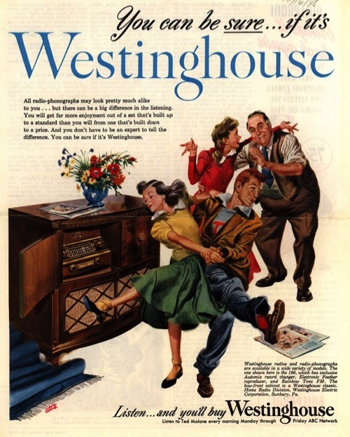 Westinghouse Print Ad From 1948