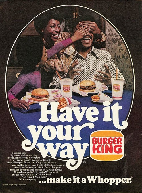 Image result for advertising in urban communities 70s