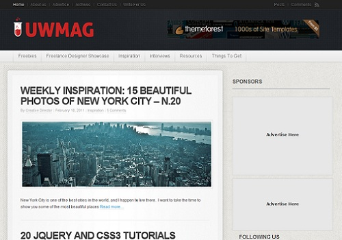 Top design blog