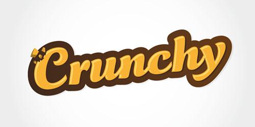 Web2.0 Crunchy Logo