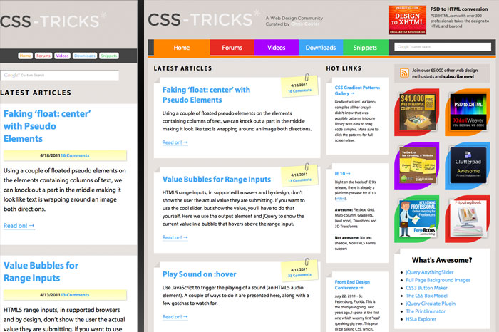 CSS Tricks
