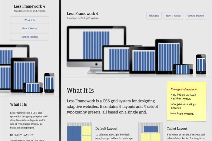 LessFramework.com